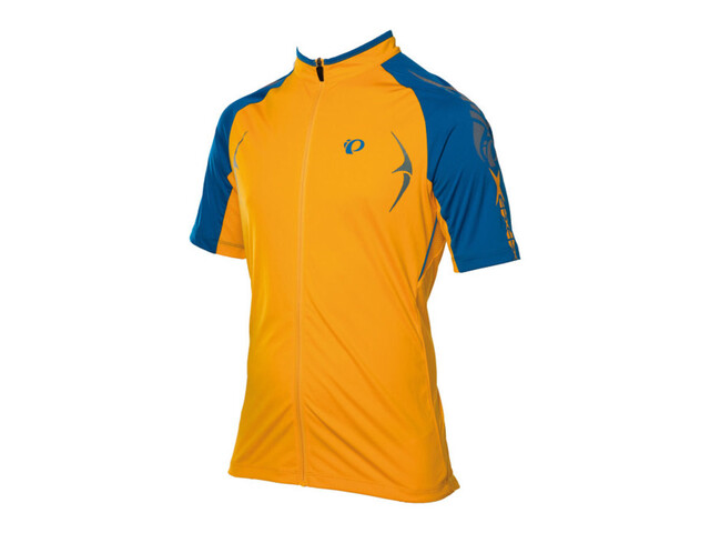 PEARL iZUMi X-Alp Jersey Men blazing orange/mykonos blue